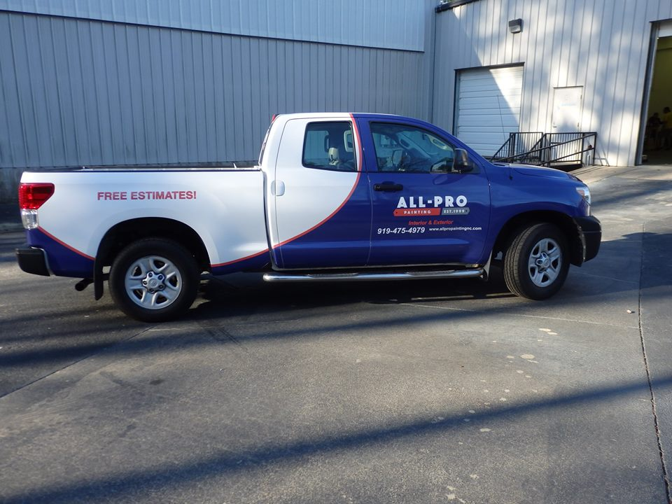 All Pro Painting NEW LOOK In Vehicle Wraps - All pro painting