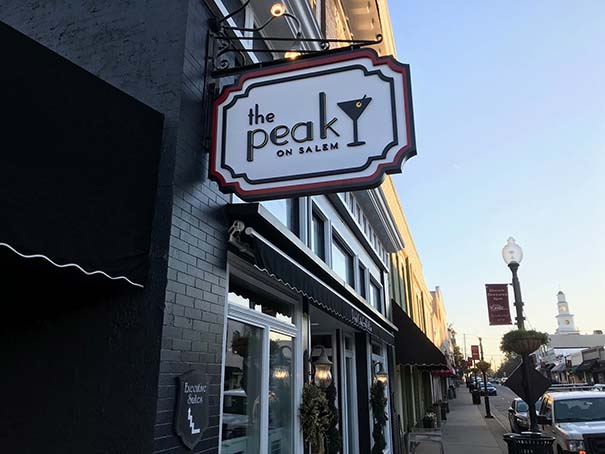 The Peak on Salem - Cary Business Signs