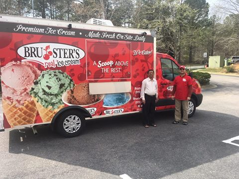 Bruster's Vehicle Wrap - Digital Printing