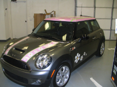 Vehicle Graphics display your business all around Raleigh