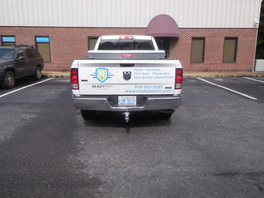 Ready Pest Solutions. - Vehicle Graphics on Display