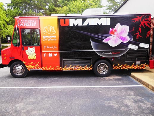 Vehicle Wrap for Umami Bistro