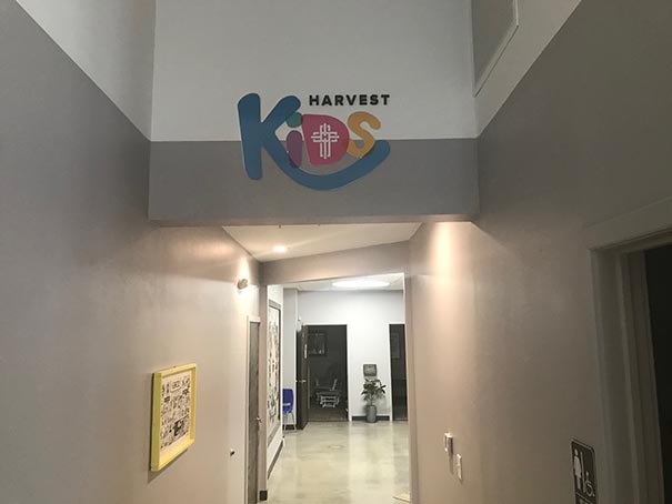 Harvest Kids Interior Signs