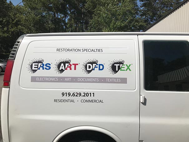 Electronic Restoration Services - Vehicle Graphics