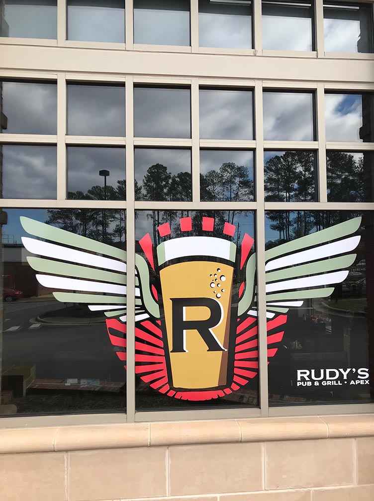 Apex, Raleigh Window Graphics